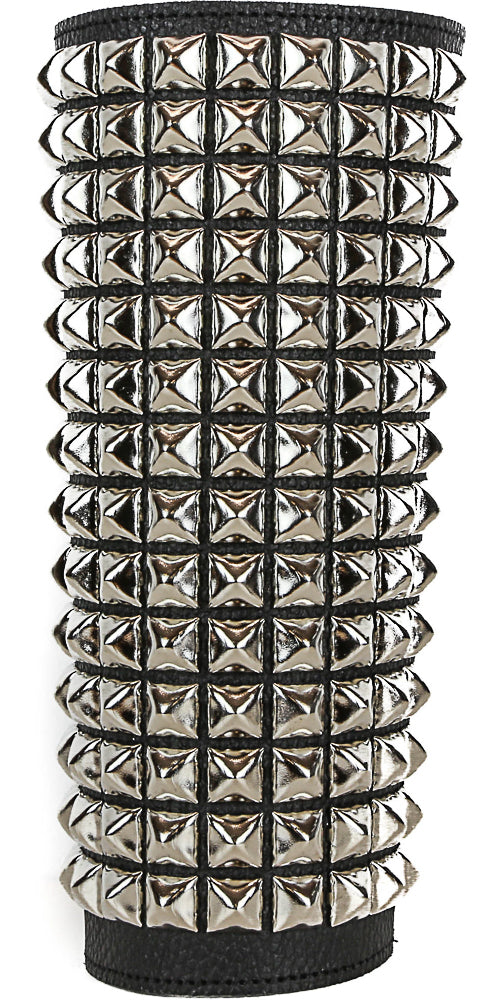 14 Row Studded Leather Gauntlet