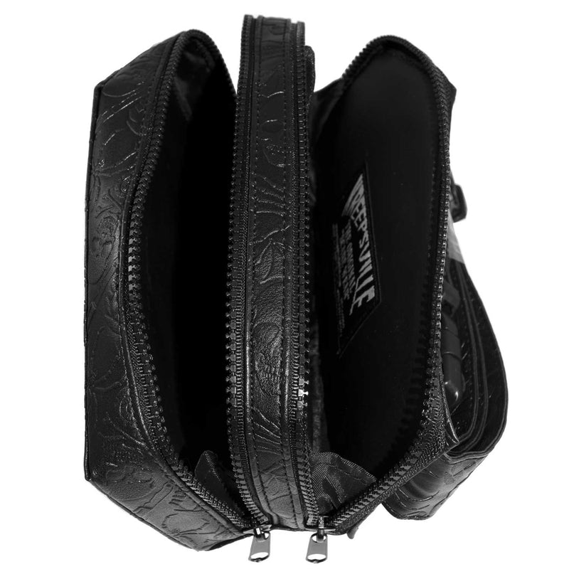 Black Coffin Hip Pouch
