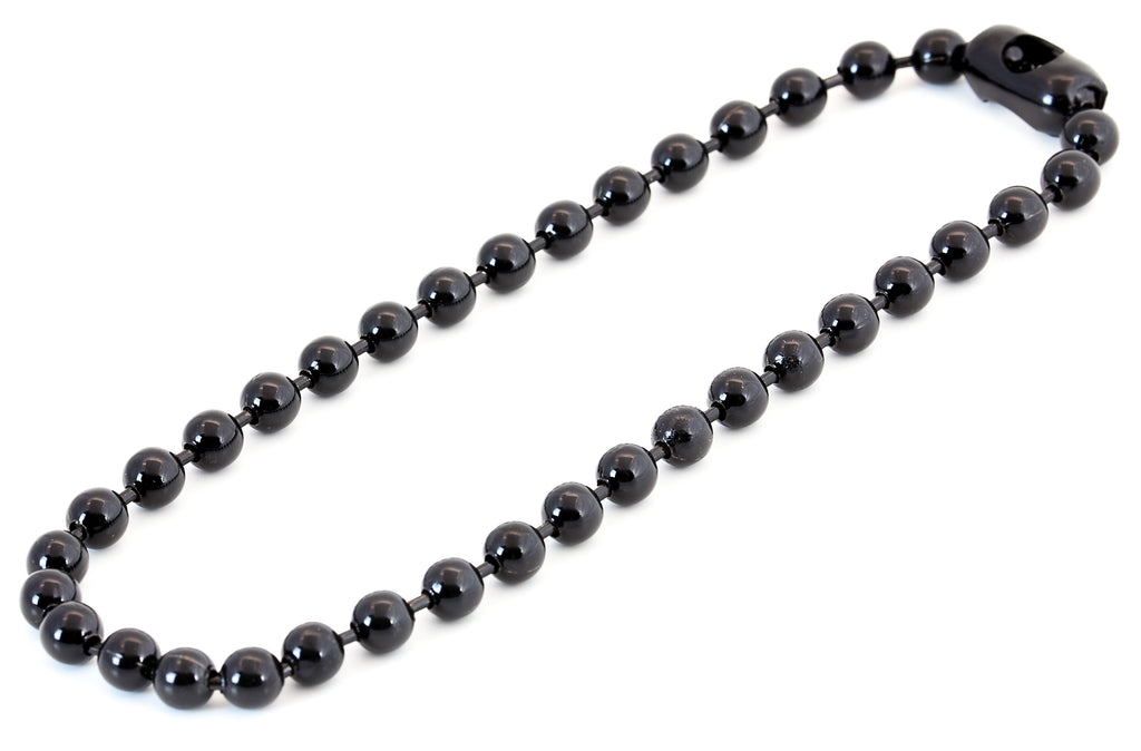 Ball Chain Necklace Black