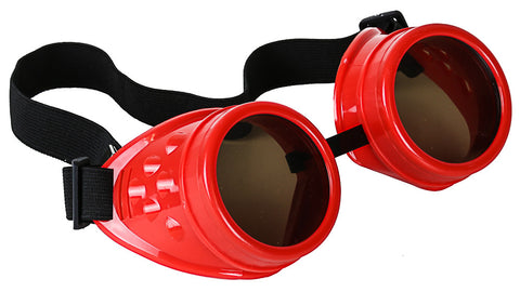 Steampunk Goggles Glasses Vintage Victorian Welding Cosplay Goth Punk Costume
