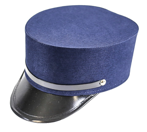 Plain Blue Conductor Cadet Hat
