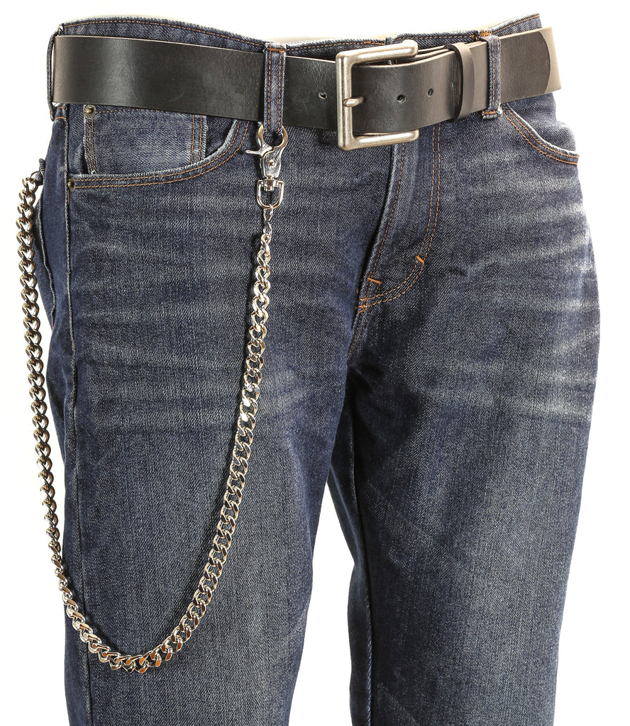 Biker Trucker Diamond Cut Key Jean Wallet Chain