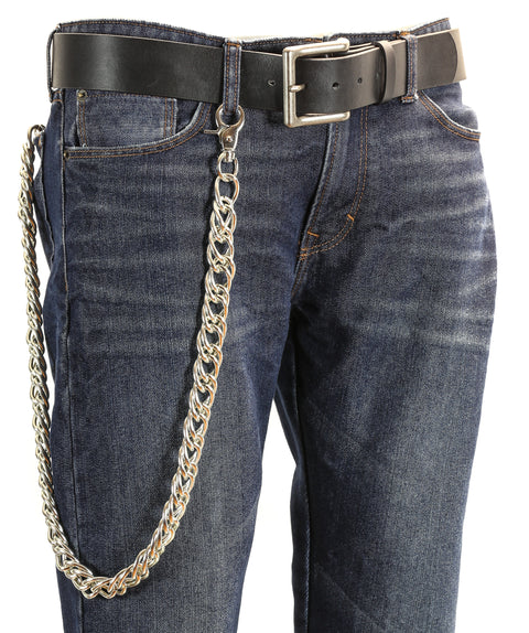 Thick Bikers Trucker Heavy Duty Metal Jean Wallet Chain