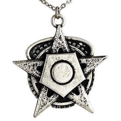 Star With Big Screw Necklace