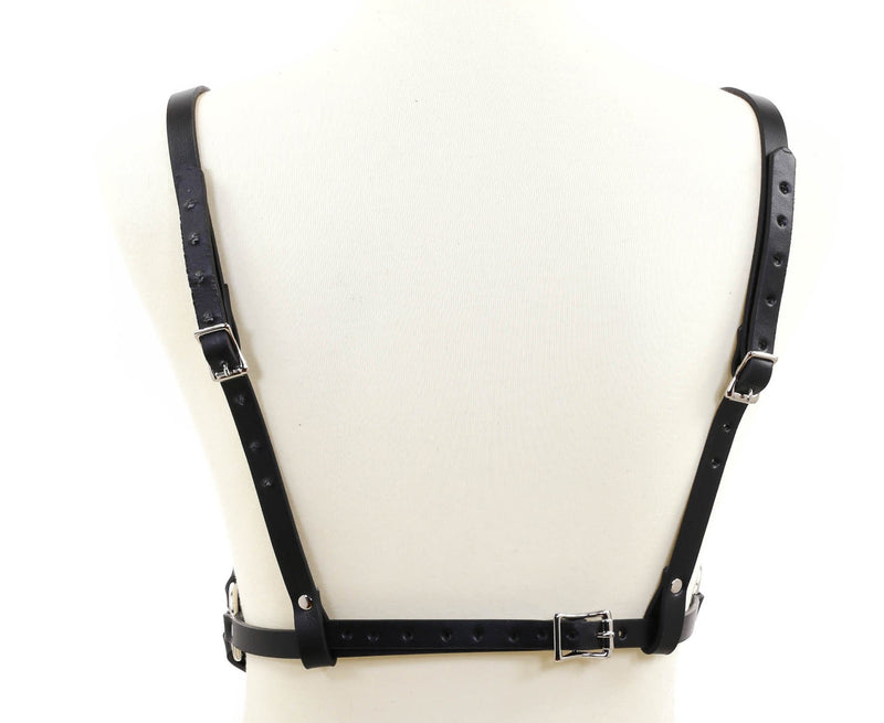 Copy of Black Bra Straps  Style Genuine Leather Harness