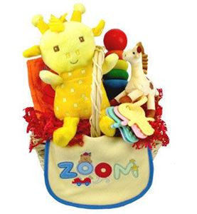 Colorful Baby Teletubby Gift Basket