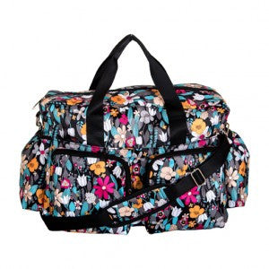 Lovely Floral Baby Diaper Bag