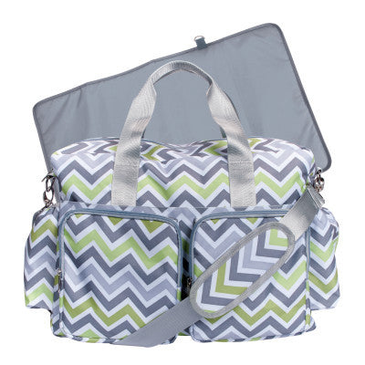 Chic Pastel Colored Diaper Bag