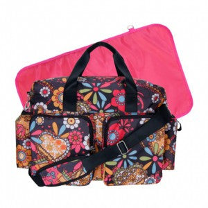 Floral Baby Girl Diaper Bag