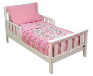Pink Paisley Princess 4 Piece Toddler Bedding Set