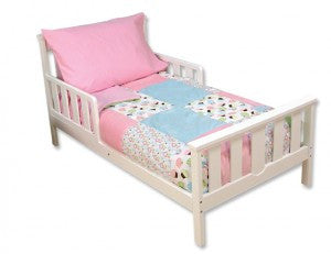Confetti Cupcake 4 Piece Toddler Bedding Set