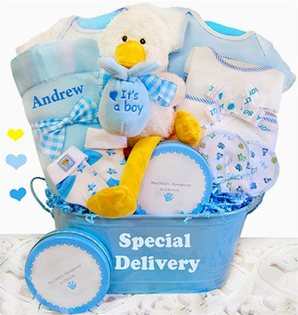 Baby Boy Special Delivery Gift