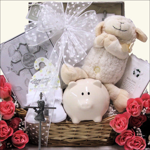 Baby Girl Baptism Gift Set