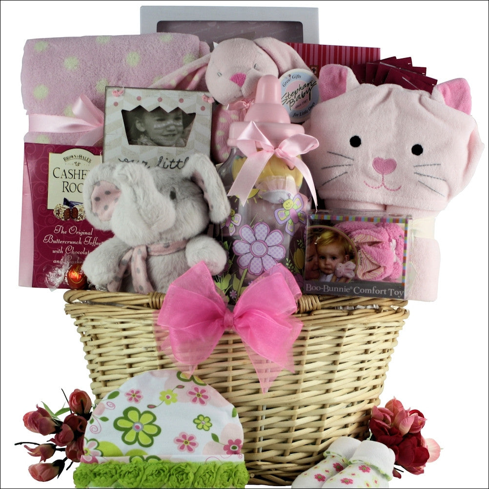 Luxurious Baby Girl Gift Basket
