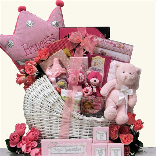Little Princess Adorable Baby Girl Gift Basket