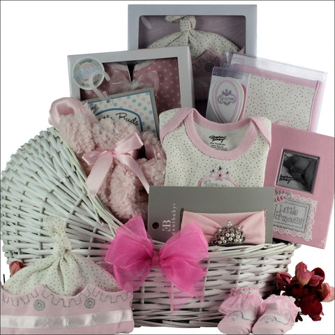 Time to Celebrate Baby Girl Gift Basket