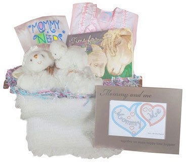 Precious Mommy and Baby Gift Basket
