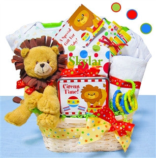 Special Circus Personalized Gift Basket