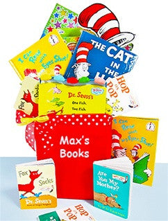 Personalized Dr. Seuss Gift Basket
