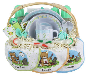Feeding Baby Gift Basket Set for Neutral Gender