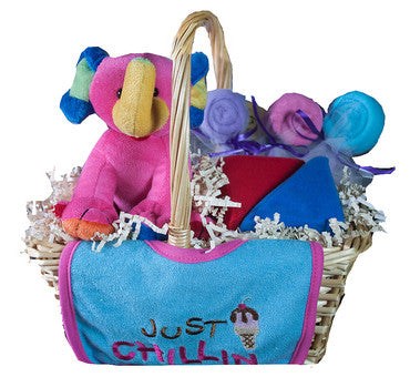 Just Chillin Baby Gift Basket