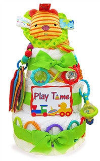 Baby Shower Playtime Diaper Cake