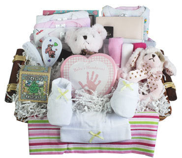 Little Angel Preemie Gift Basket - Girl