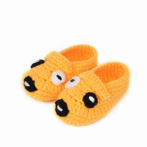 Yellow Puppy Baby Shoes for Boys