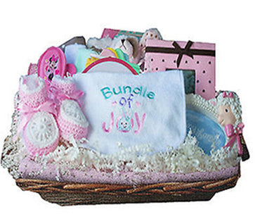 Sweet Bundle Of Joy Baby Shower Gift - Girl