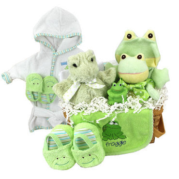 Froggy Gift Basket