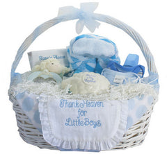 Thank Heaven Baby Gift Basket