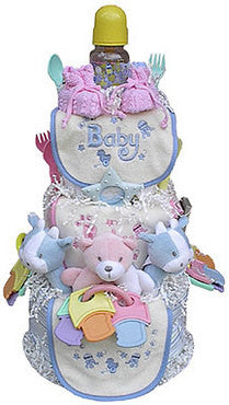 Triple The Fun Triplets Diaper Cake