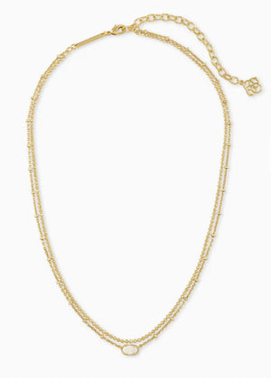 Emilie Gold Multi Strand Necklace