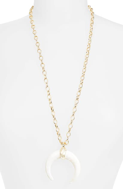 Rebecca Ox Horn Necklace