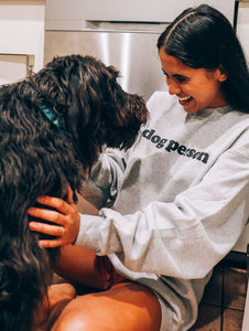 Friday + Saturday - Dog Person Sweatshirt