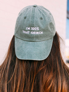 100% That Grinch Hat
