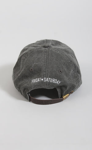 Friday + Saturday: DAY OFF HAT