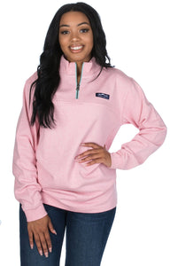 Lauren James Heathered Whitacre Pullover
