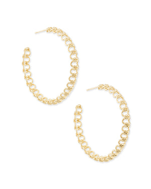 Fallyn Hoop Earrings by Kendra Scott