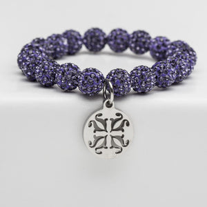 Rustic Cuff - Emerson Purple