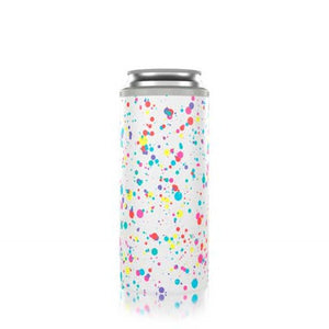 Slim Can Cooler Splatter Paint