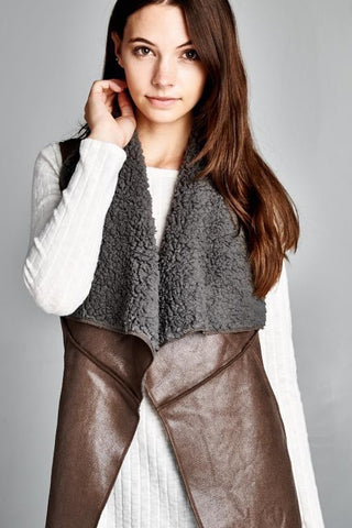 BRITTANY FLEECE VEST