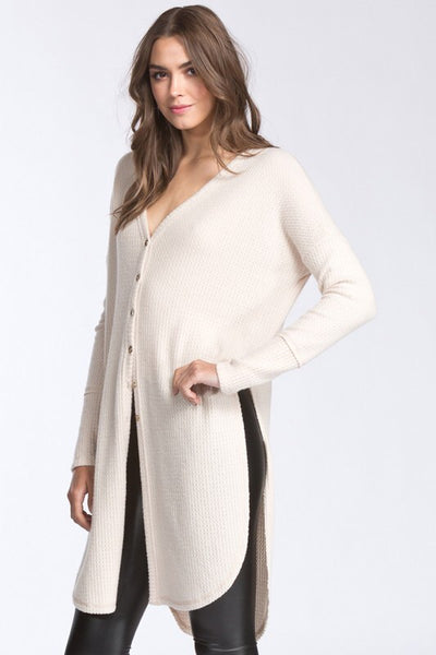 COZY COMFY THERMAL CARDIGAN