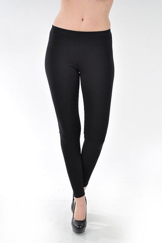 SIMPLE BLACK LEGGING