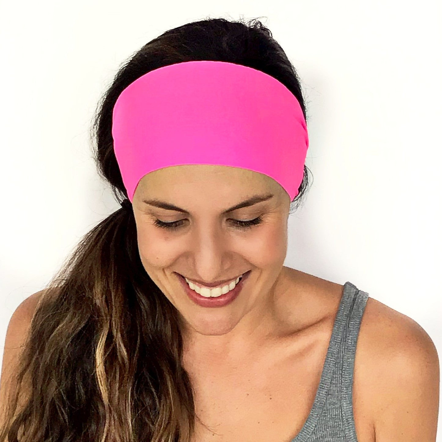 Hot Pink Workout Headband