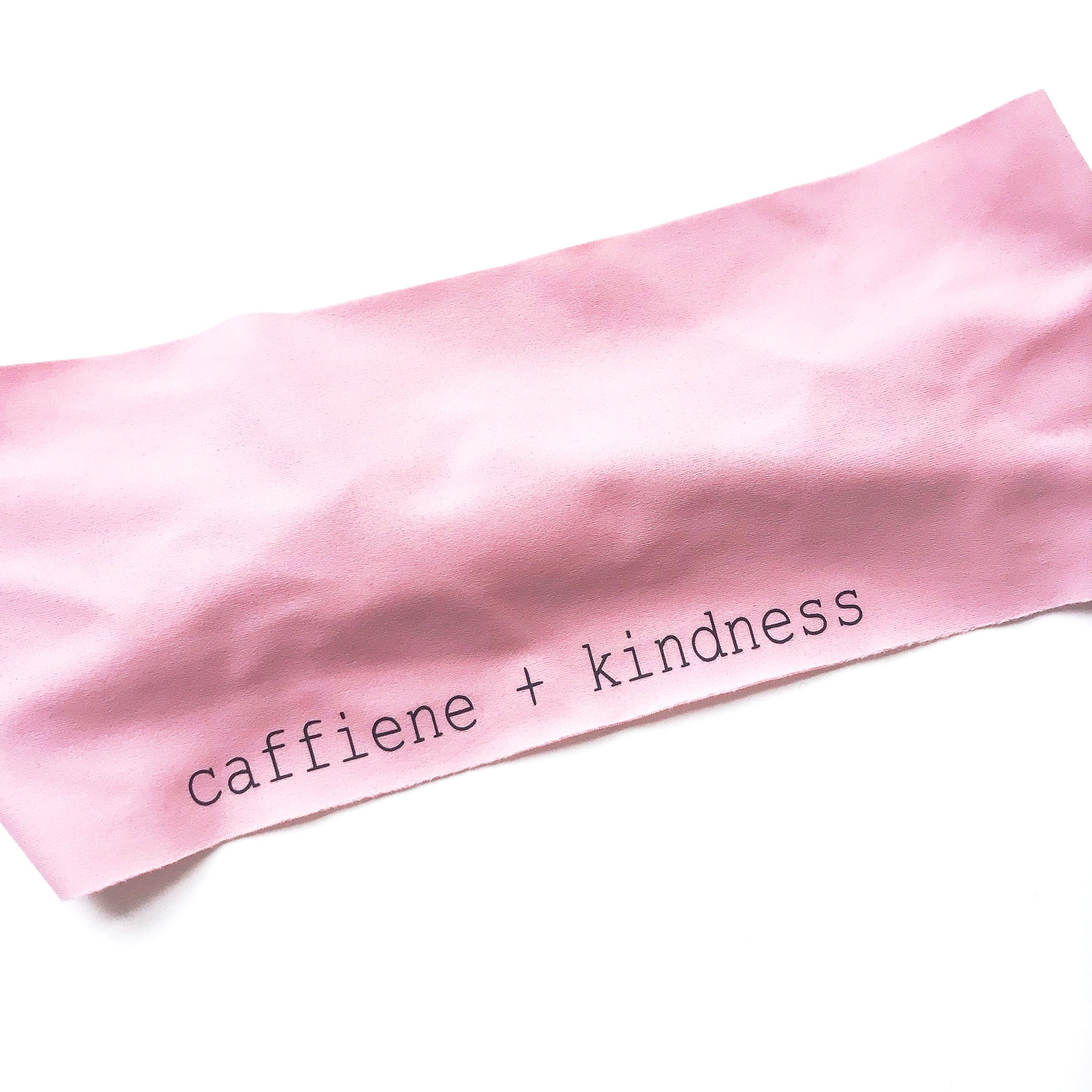 Caffeine + Kindness Headband