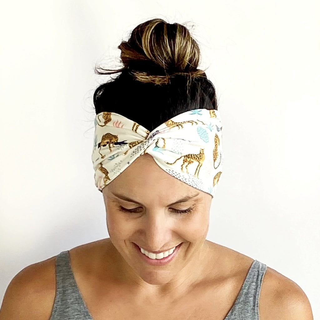 A Little Catty Turban Headband