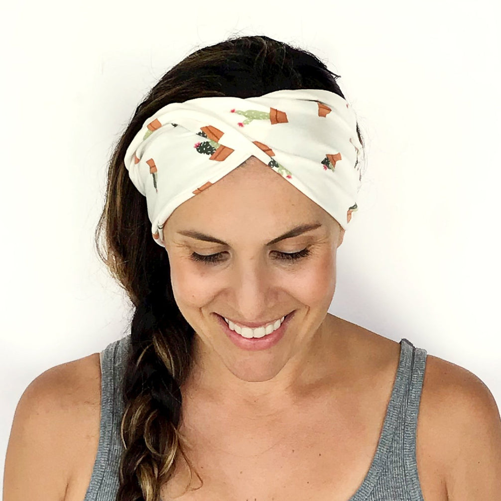 Green Thumb Double Twist Headband