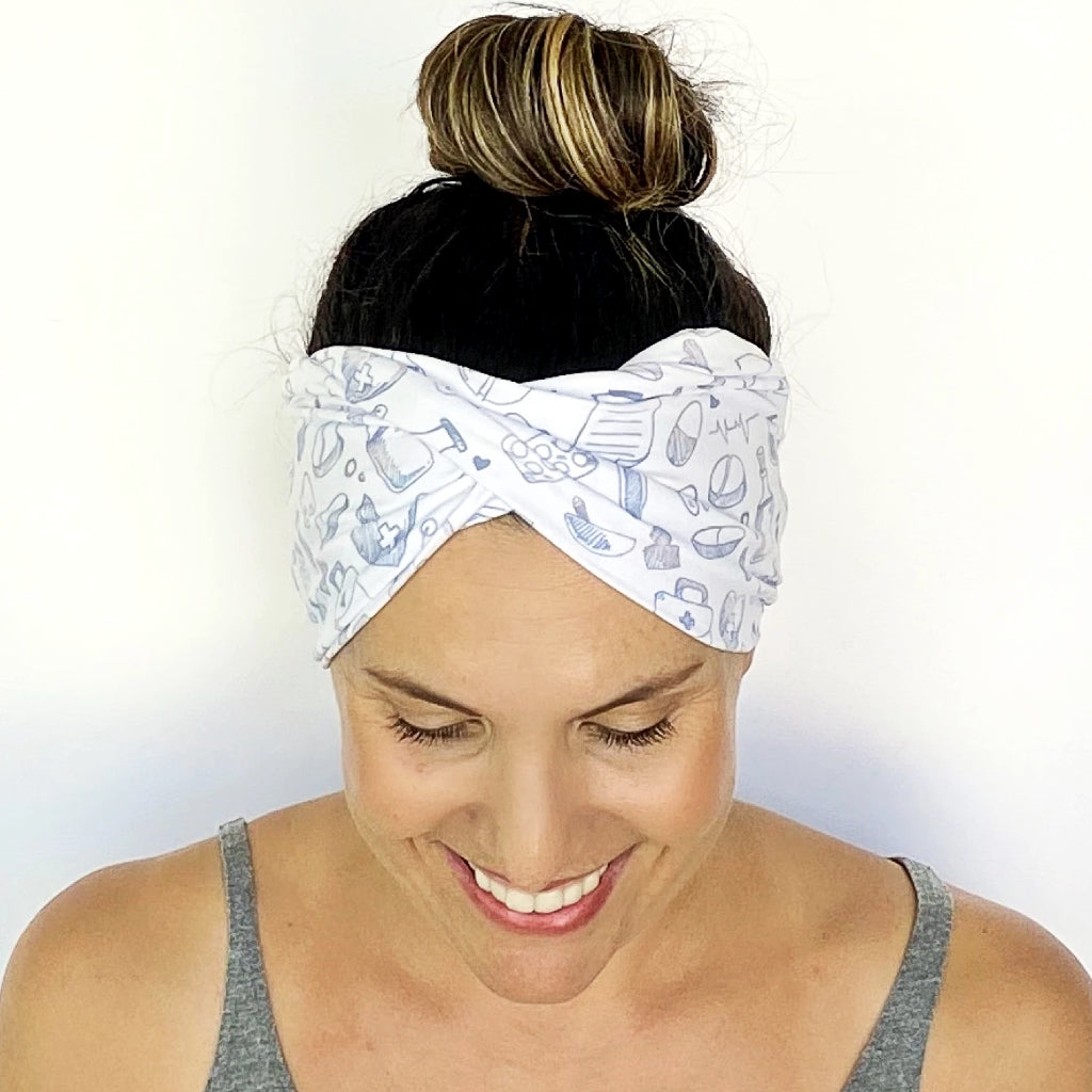 Scrub Life Twist Headband