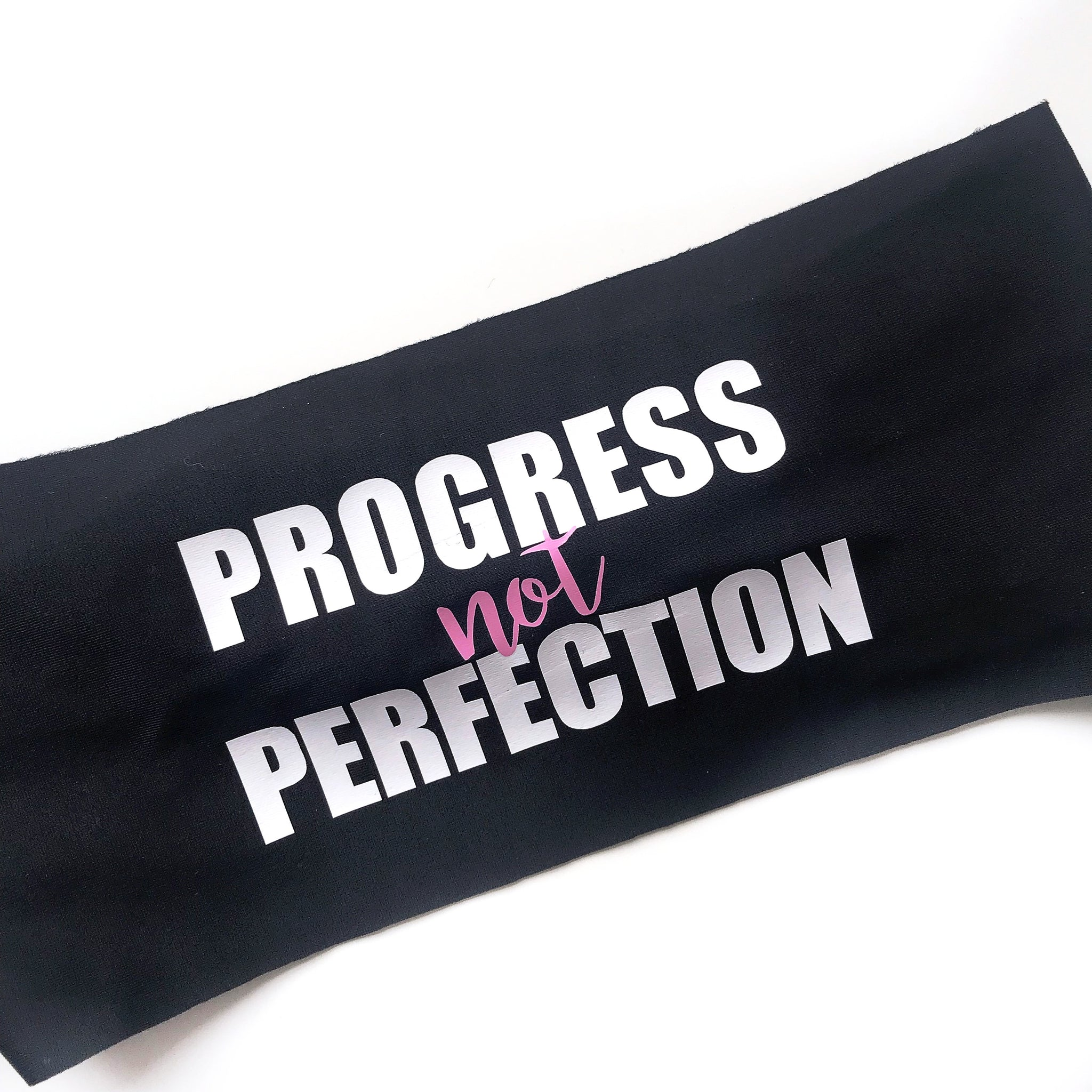 Progress Not Perfection Headband